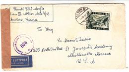 Austria / Airmail / Censorship / U.S. - Autriche