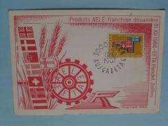31 XII 1966 - EFTA Handel : ZOLFREI / Produits AELE : Franchise Douanière - AUSGABETAG 1967 ( Zie Foto ) ! - Cartoline Maximum