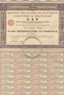/! 1966 - Action : France : 500 Francs : 1926 : CIT - Trasporti