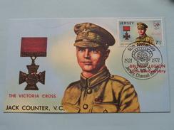 50th Anniversary BRITISH LEGION ( The Victoria Cross / Jack Counter, V.C. ) 1971 ( Zie Foto ) ! - Jersey