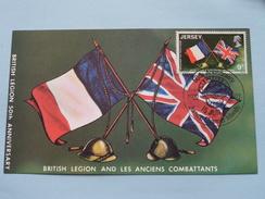 50th Anniversary BRITISH LEGION ( And Les Anciens Combattants ) 1971 ( Zie Foto ) ! - Jersey