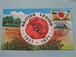 50th Anniversary BRITISH LEGION ( 1921 - 1971 ) 1971 ( Zie Foto ) ! - Jersey