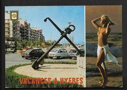 Hyeres - La Crau Toulon CPSM Var Provence - Femme Nue - Seins Nus - Naturisme - Hyeres