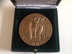 Medaille Dit De Table PROPRIETE IMMOBILIERE UNION NATIONALE - 1980 - Professionals / Firms