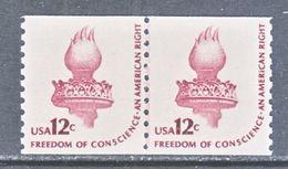 U.S. 1816   **  LINE  PAIR  LIBERTY  TORCH - Coils & Coil Singles