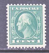 U.S. 498  **    Perf.  11  Flat  Press  1917 Issue  No  Wmk. - United States
