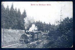 Cpa D' Allemagne Partie Im Werdauer Wald -- Train Locomotive   SEP17-47 - Allemagne