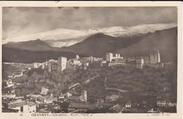 ESPAGNE---GRANADA---alhambra--sierra Nevada--voir 2 Scans - Granada