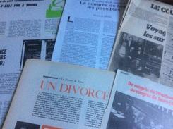 Le Congrès De Tours : 2 Articles De Politique Hebdo (1970)  - 1 Article De F. Sitel (Critique Communiste-1990) - 2 Artic - Giornali