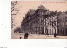 Cpa 59 Lille - école Des Arts Et Métiers - Tampon De Lille - Lille