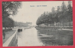 Tournai - Quai De L'Arsenal ... Péniches ( Voir Verso ) - Tournai