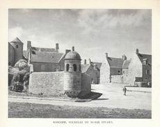 1952 - Héliogravure - Roscoff (Finistère) - La Tourelle De Marie Stuart - FRANCO DE PORT - Vecchi Documenti