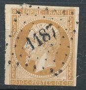 N°13 LOSANGE P.C. - 1853-1860 Napoléon III