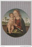 Rieti - Greccio - Santuario Francescano Del Presepio - Madonna Su Tavola - Biagio D ' Antonio  ( Sec XIV) - Virgen Mary & Madonnas