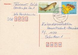 Postkarte Von Waltershausen 1990 (ak0999) - Briefe U. Dokumente
