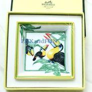 Hermes Tray Porcelain Tucano - Piattino Porcellana - Never Used - Ceramica & Terraglie