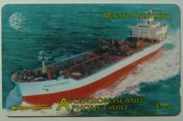 ASCENSION ISLANDS - GPT - £15 - Maersk  - 268CASB - Used - Ascension