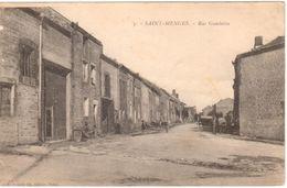 5 - Saint-Menges - Rue Gambetta - Frankrijk