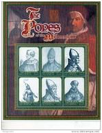 2000 Uganda Popes Religion Complete Set Of 6  MNH - Uganda (1962-...)
