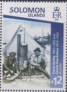 Solomon Islands 2015 Henry Shackleton Tent MNH 1V - Solomon Islands (1978-...)