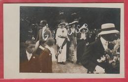 Beaumont - La Joyeuse Entrée... Juin 1913 - Princesse Philippe De Caraman-Chimay ... Carte Photo - 1  ( Voir Verso ) - Beaumont