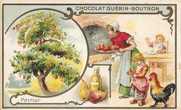 CHROMO CHOCOLAT  GUERIN BOUTRON -   POIRIER   -  PARIS - Guerin Boutron
