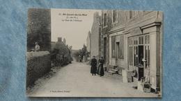 SAINT JACUT DE LA MER - LA RUE DE L'ABBAYE - 22 - Saint-Jacut-de-la-Mer