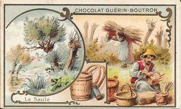 CHROMO CHOCOLAT  GUERIN BOUTRON -   LE SAULE   -  PARIS - Guerin Boutron