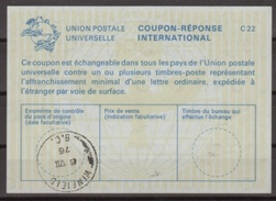 CANADA La22 International Reply Coupon Reponse Antwortschein IAS IRC O WINFIELD B.C. 06.07.76  ( Unitrade 18 ) - Antwortcoupons