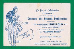 Buvard - Concours Des Buvards Publicitaires -- ASDA -- Etablissements BOULLOUD - Mostard