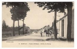 45 LOIRET - SAINT AY Route D'Orléans, Entrée Du Bourg (voir Descriptif) - Altri Comuni