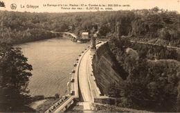 BELGIQUE SOUVENIR DE GILEPPE LE BARRAGE ET LE LAC - Gileppe (Barrage)
