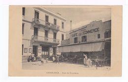 Casablanca. Place Du Commerce. Terrasse Du Grand Café Du Commerce. (2032r) - Cafés