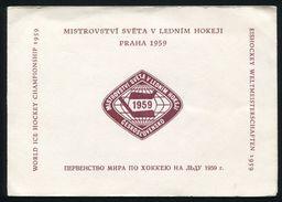 CZECHOSLOVAKIA WORLD ICE HOCKEY CHAMPIONSHIP 1959 - Czech Republic