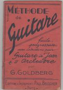 Méthode De Guitare G. Goldberg Editions Paul Beuscher - Etude & Enseignement