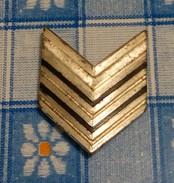 Grado Singolo Metallo Brigadiere - Carabinieri - Obsoleto - Usato - Aviazione