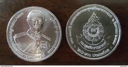 Thailand Coin 20 Baht 2016 120th The Army Training Command (#66) UNC - Thailand