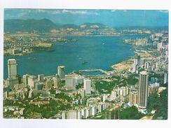 A BIRD'S EYE VIEW OF HONG KONG AND KOWLOON - - Cina (Hong Kong)