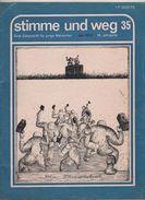 Militaria KRIEG Guerre Vietnam Indochine Revue 1972 En Allemand  Stimme Und Weg - Revistas & Periódicos