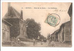 08 Autry.Rue De La Gare. Le Chateau - Sonstige Gemeinden
