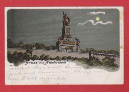 Gruss Vom Niederwald - Ruedesheim A. Rh.