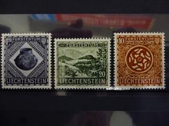 LICHTENSTEIN 281/83  X ( YVERT ) COTE : 45 EURO ( H ) - Liechtenstein
