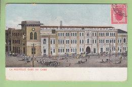 Egypte : LE CAIRE :  La Nouvelle Gare Du Caire.  2 Scans. Edition ? - Cairo