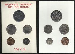SERIE FDC . 1973 . LEGENDE FRANCAISE . - 1951-1993: Baudouin I
