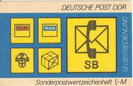 DDR - Sonder-Markenheftchen (SMHD), 1982, Mi 11ad - Booklets