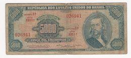 Brazil 5000 Cruzeiros 1964 - Brésil