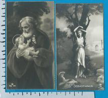 Holycard    N.B.   199   745    2 Pieces - Devotion Images