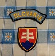 Patch Distintivo Esercito Slovacchia - Usati - Scudetti In Tela