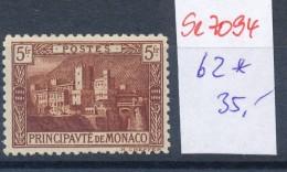 Monaco Nr.   62  *  ( Se7094  ) Siehe Scan ! - Monaco