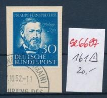 BRD  Nr. 161  O ( Se6697   ) Siehe Scan ! - [7] République Fédérale